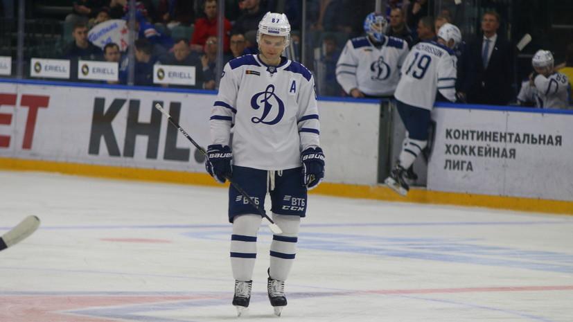 Шайба Шипачёва помогла «Динамо» победить «Йокерит» в первом матче серии плей-офф КХЛ