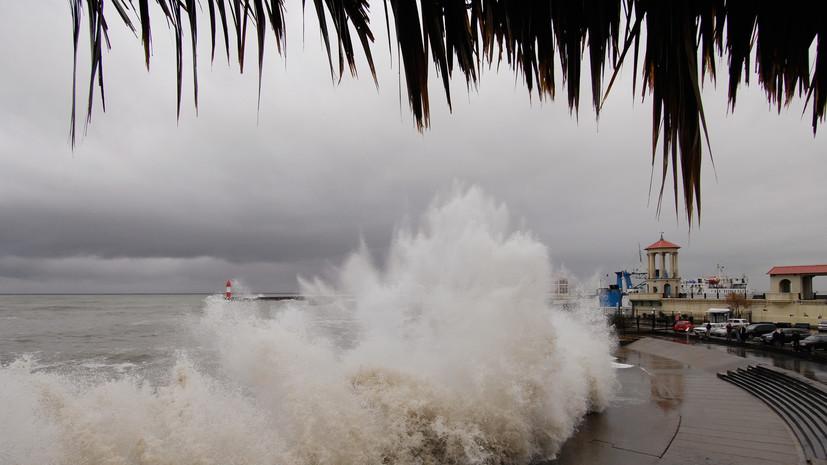 Власти Сочи предупредили об усилении ветра до 15 м/с