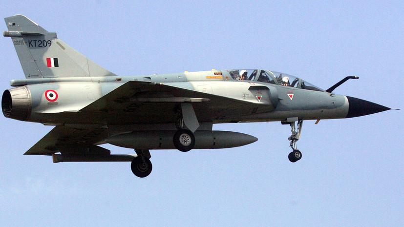 Индийские ВВС нанесли удары по лагерям боевиков в Кашмире