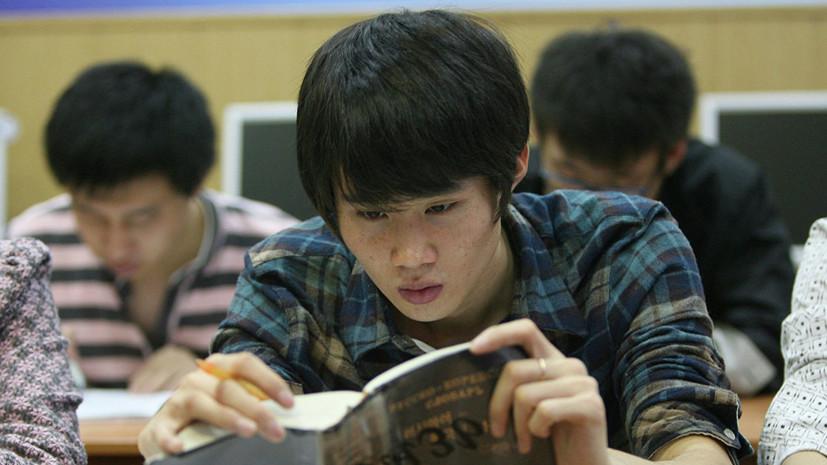 В России более чем на 30% увеличилось число студентов из Индии и Китая