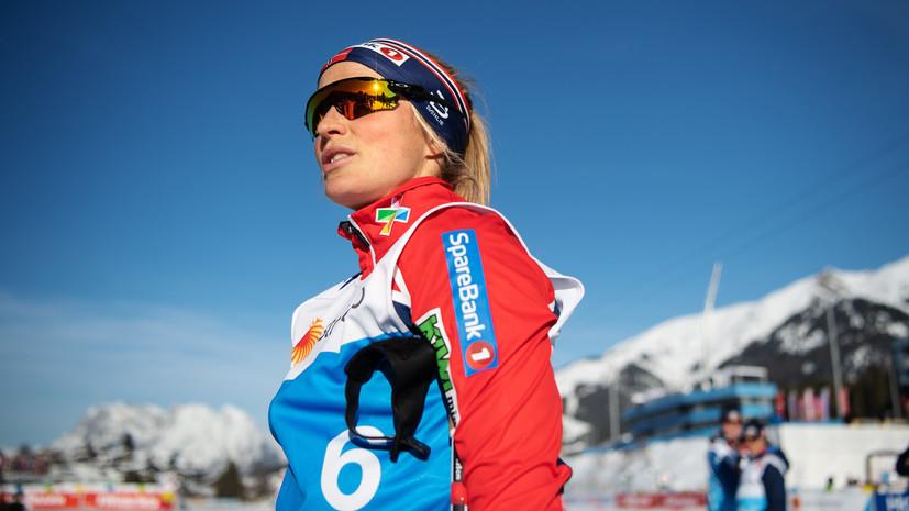 Норвежская лыжница Йохауг выиграла классическую гонку на ЧМ, Седова — шестая
