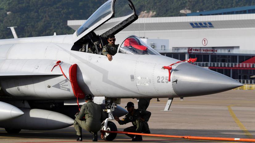 ВВС Пакистана сбили два индийских военных самолёта