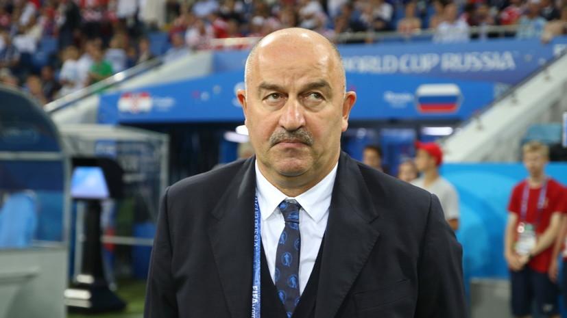 Черчесов о своей награде лучшему тренеру года: вручил бы премию сборной России по футболу