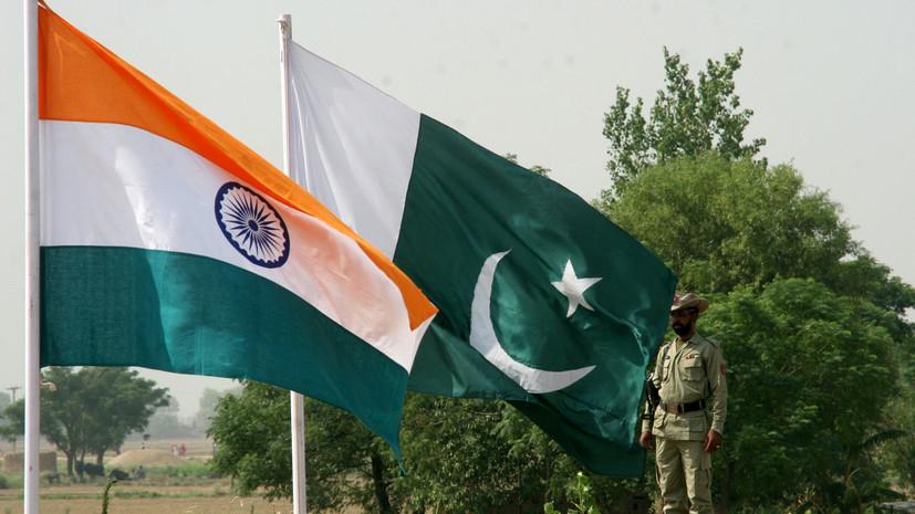 Индия выразила Пакистану протест в связи с арестом военного пилота