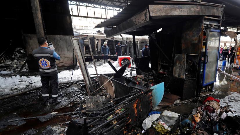В Египте назвали причину крушения поезда в Каире