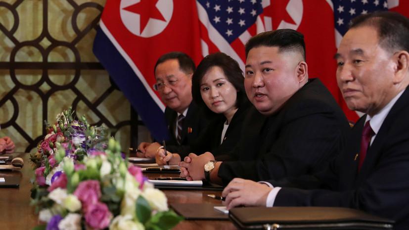 Ким Чен Ын подтвердил намерение провести денуклеаризацию