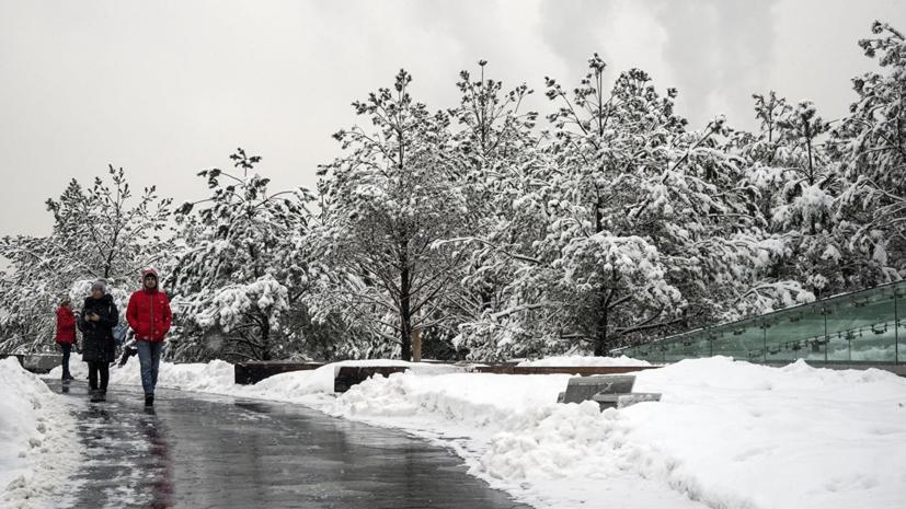В Москве 1 марта объявлен «жёлтый» уровень погодной опасности