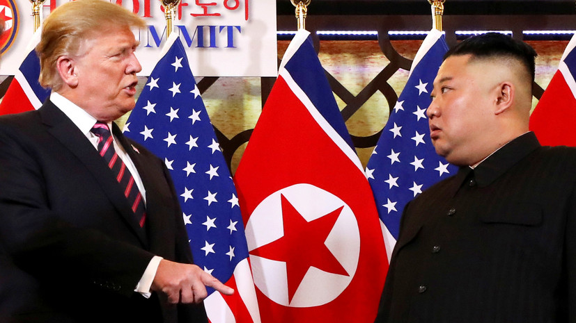 «Процесс важнее результата»: почему Трамп и Ким Чен Ын не пришли к соглашению по итогам переговоров