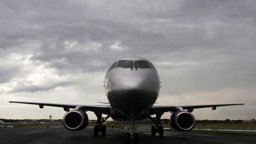 «Гражданские самолёты Сухого» поставят в Таиланд шесть SSJ100