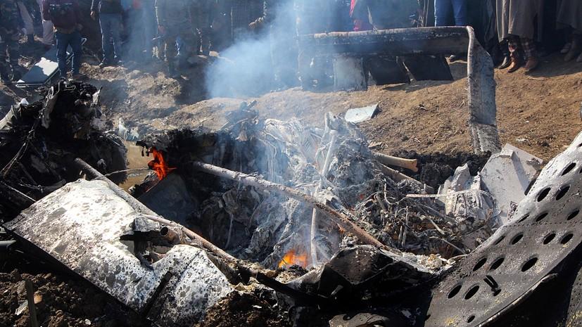 СМИ раскрыли детали воздушного боя ВВС Индии и Пакистана над Кашмиром