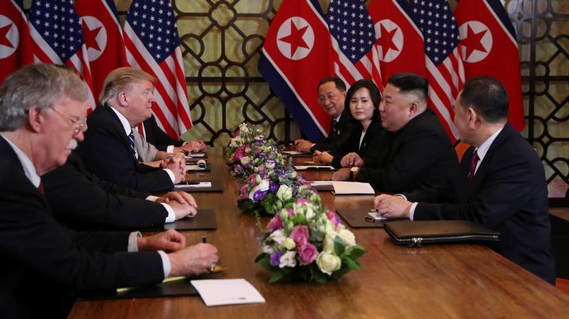 КНДР выступила на саммите за частичную отмену санкций США