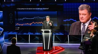 Выступление Петра Порошенко в программе «Свобода слова»