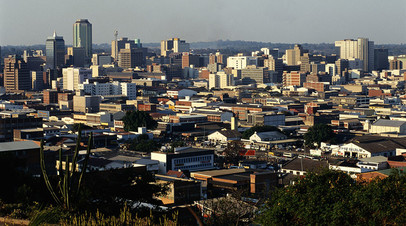 В столице Зимбабве Хараре
