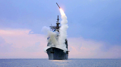 Запуск ракеты «Томагавк»