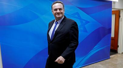 Иcраэль Кац назначен и.о министра иностранных дел Израиля