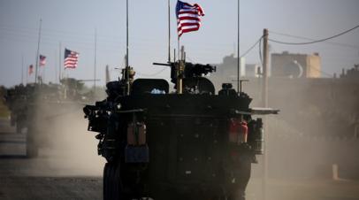 Эксперт прокомментировал позицию США по контролю территории в Сирии