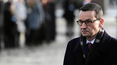 Премьер-министр Польши отменил визит в Израиль после заявлений Нетаньяху
