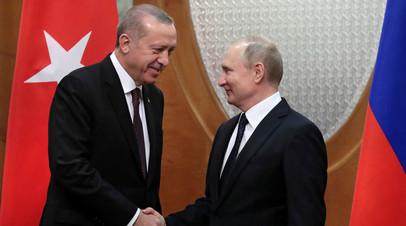 Путин и Эрдоган проведут переговоры в Москве в апреле — Ушаков
