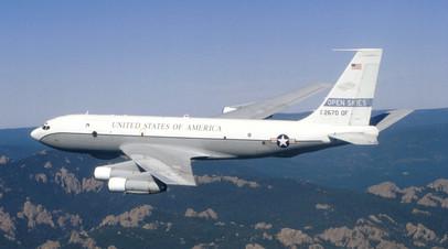 Американский наблюдательный самолёт Boeing OC-135B