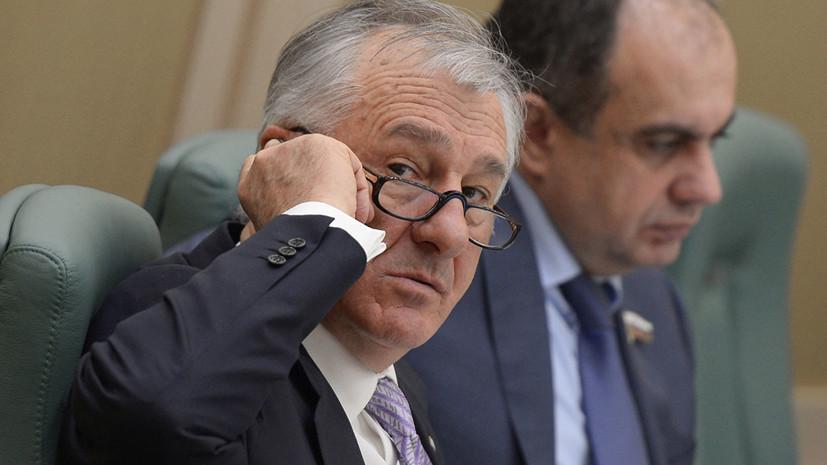 Освобождённый из СИЗО экс-сенатор Дерев дал показания на Арашуковых