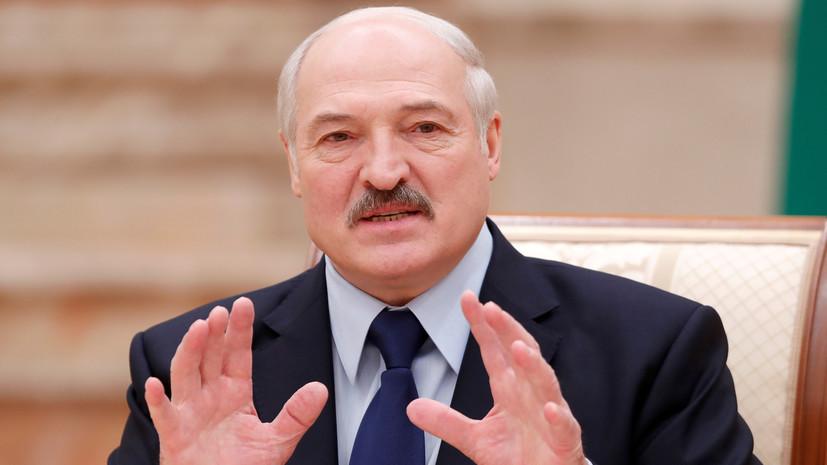 Лукашенко: первые шаги по урегулированию в Донбассе должен сделать Порошенко