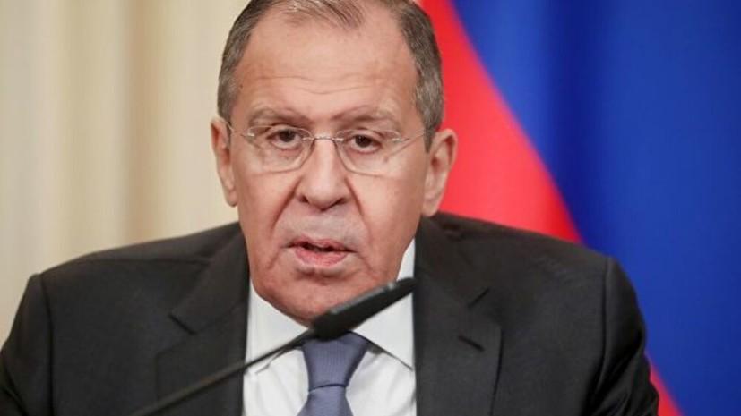 Лавров оценил «сделку века» по палестино-израильскому конфликту