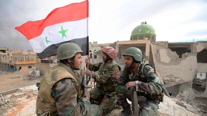 SANA сообщило об атаке боевиков на армию Сирии в провинции Хама