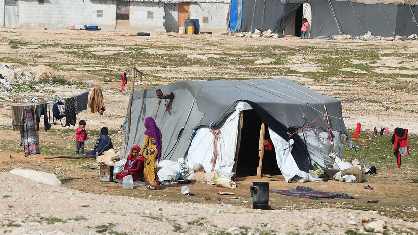 ЦПВС: США не гарантируют безопасность колонн для беженцев«Эр-Рукбана»