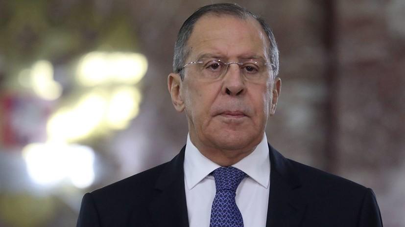 Лавров назвал слова Болтона о Венесуэле оскорблением Латинской Америки