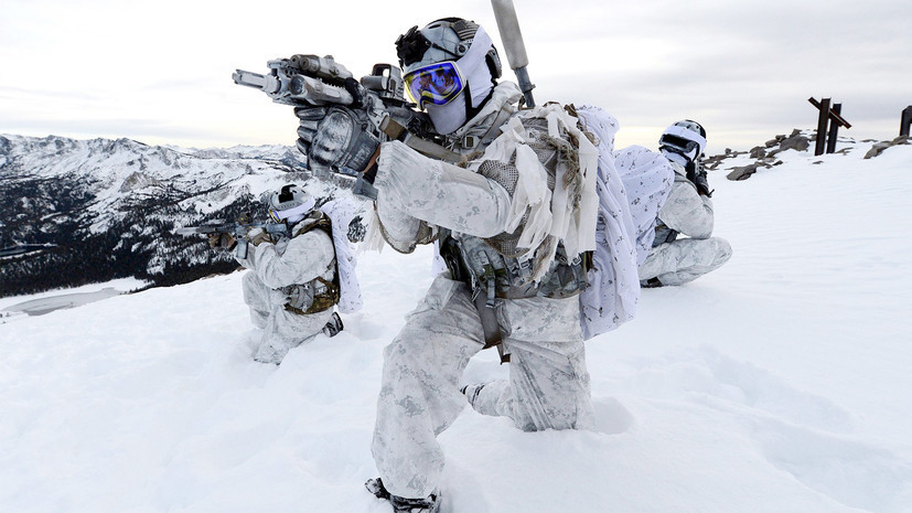 Холодные войны: зачем морпехи США отрабатывают действия в экстремальных условиях
