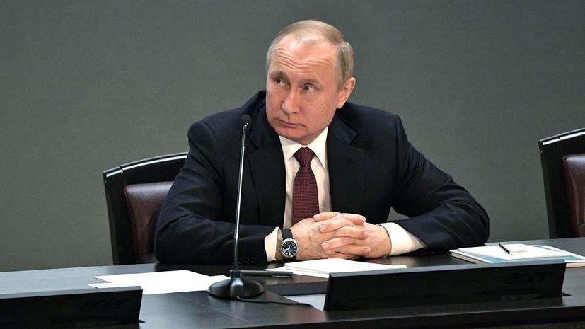 Путин потребовал не «накручивать» льготную ставку по ипотеке выше 6%