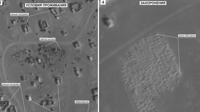Минобороны: у лагеря «Эр-Рукбан» обнаружены 300 свежих могил