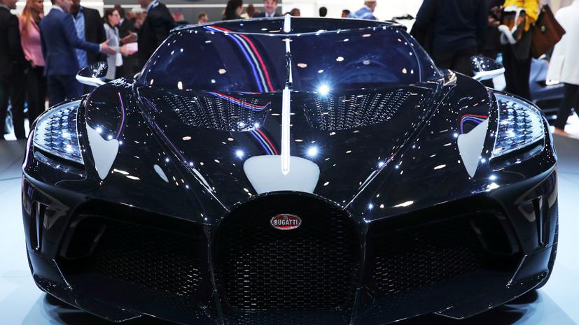 Представлен самый дорогой автомобиль в мире