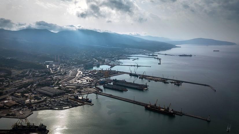 В Новороссийск зашли корабли ВМС Турции