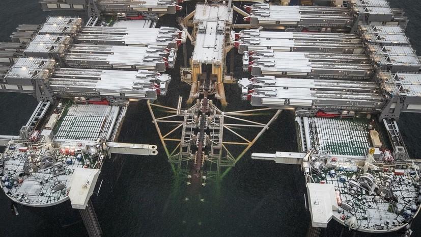 «Газпром» построил треть газопровода «Северный поток — 2»