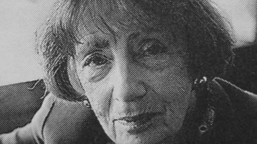 Умерла культуролог Майя Туровская