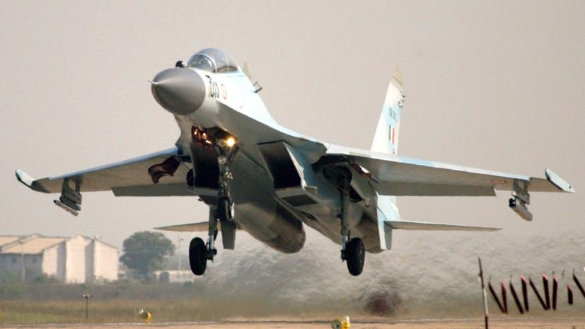 В Индии заявили, что Су-30 увернулись от пакистанских ракет