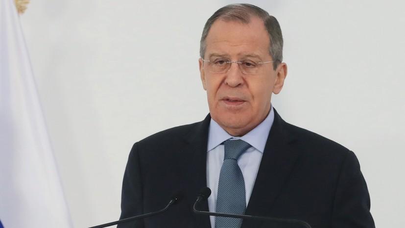 Лавров рассказал о шагах России при размещении США запрещённых ДРСМД ракет