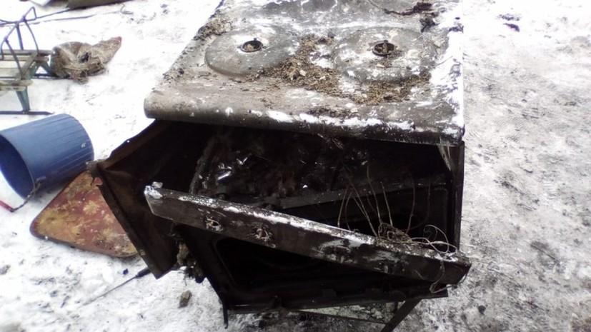 В Алтайском крае при взрыве газа в жилом доме погибли два человека