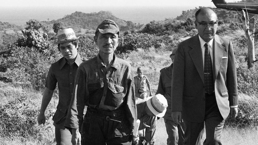 Вечный партизан Онода: как японский офицер 30 лет воевал в джунглях Филиппин после капитуляции империи