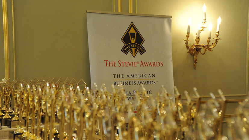 ВидеоагентствоRT Ruptly завоевало бизнес-премию Stevie Awards в Германии