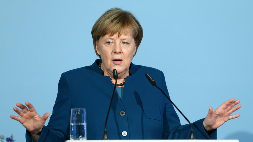 Bloomberg: Меркель отвергла предложение США отправить ВМС к Крыму