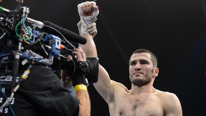 Боксёр Бетербиев проведёт следующий бой 4 мая