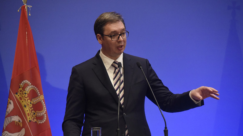 В Сербии обвинили Косово в нежелании вести диалог