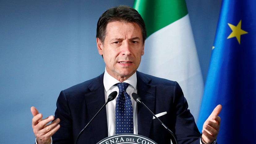 В Италии рассказали о работе над отменой антироссийских санкций