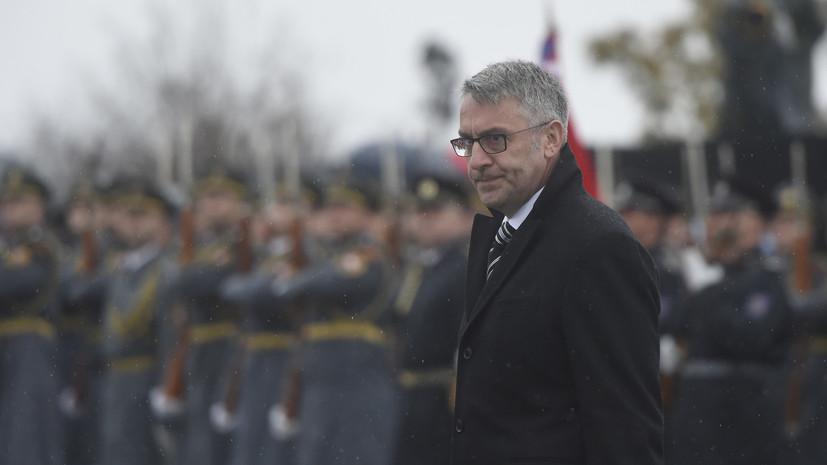 Глава Минобороны Чехии отнёс Россию к числу главных угроз для НАТО