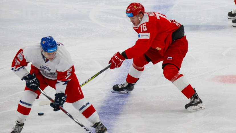 Российские хоккеисты обыграли команду Чехии и вышли в полуфинал Универсиады