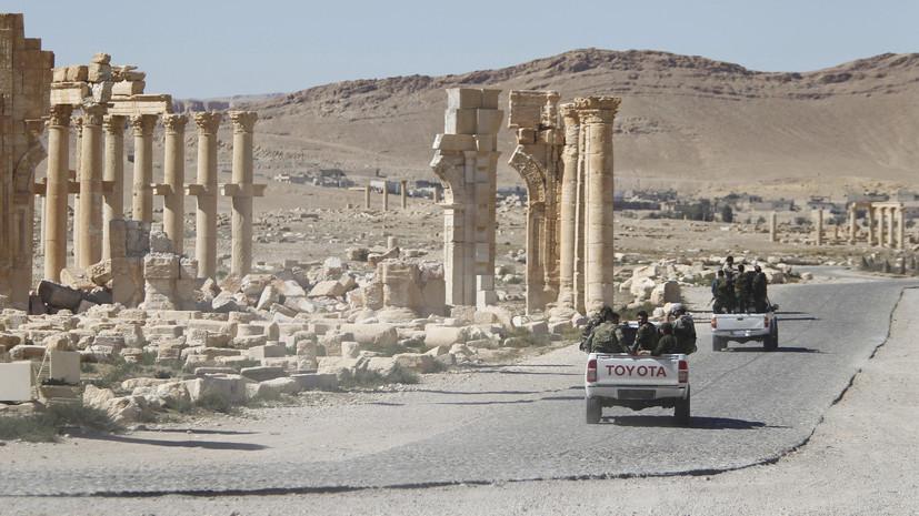 СМИ: При теракте в Сирии погибли восемь человек