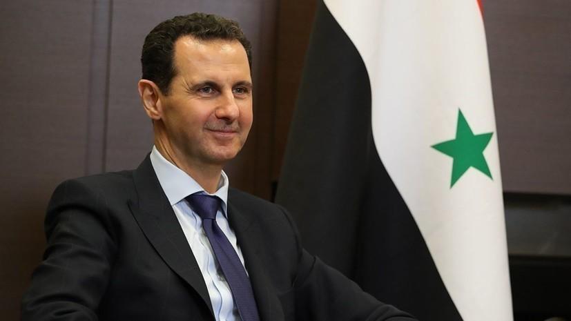 Асад заявил об экономической блокаде Сирии