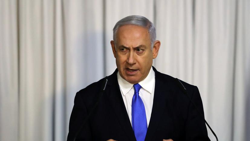 Нетаньяху пригрозил ХАМАС военной операцией на границе с сектором Газа